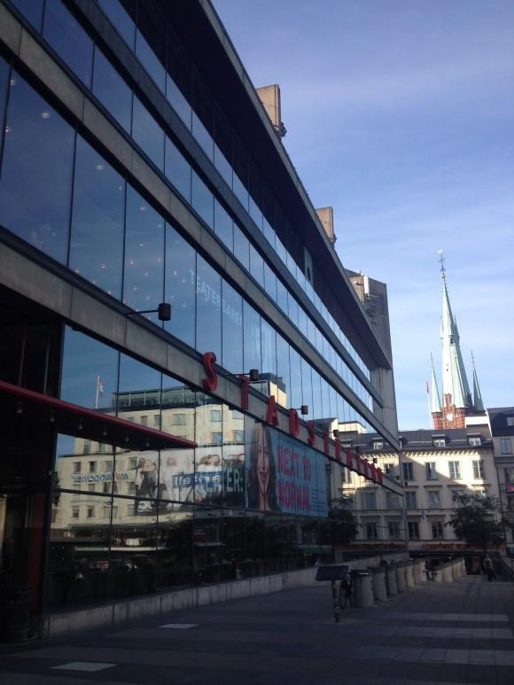 Godmorgon Genusföretagare på kulturhuset i Stockholm